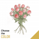 Send 12-roses-long-stemmed to Macedonia
