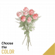 Send 7-roses-long-stemmed to Tunisia